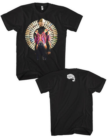 Paisley Park - Apparel - Prince Musicology Tour Ticket T-Shirt with Paisley Park Logo