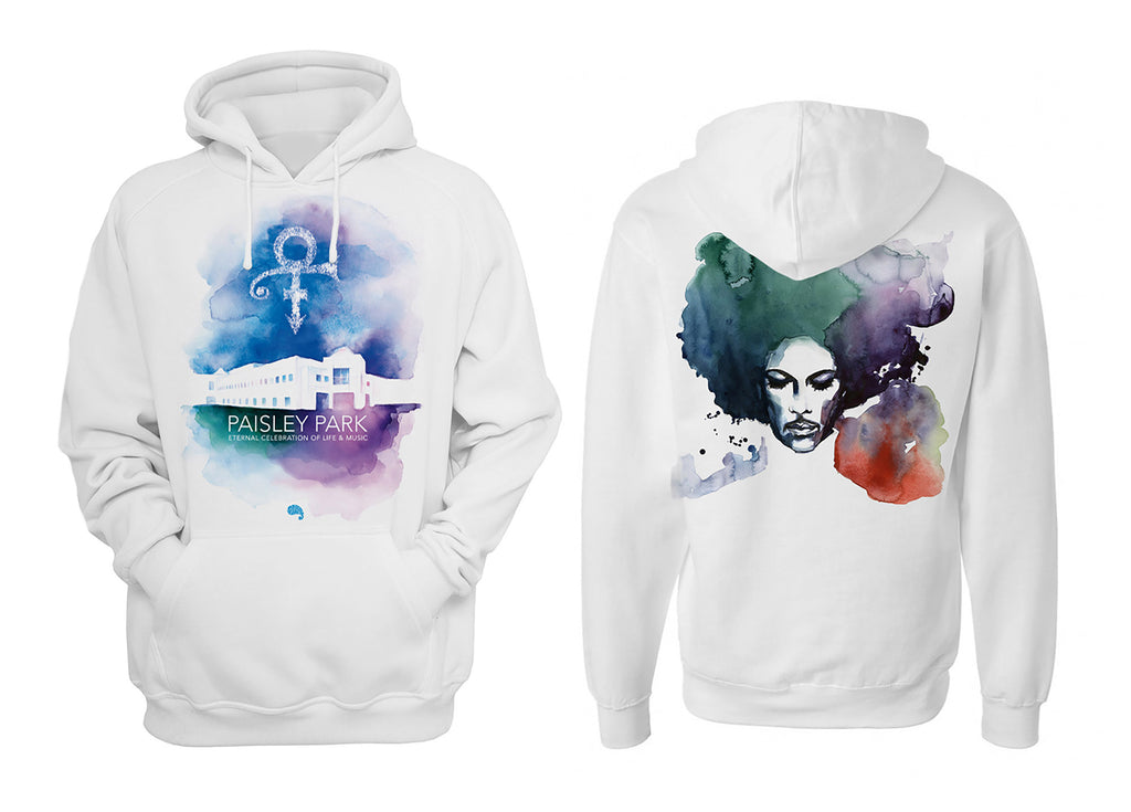 Paisley Park: Eternal Celebration of Life & Music (2017 Anniversary Edition, artwork by Blule) - Hoodie - Men's & Women's