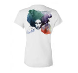 Paisley Park: Eternal Celebration of Life & Music (2017 Anniversary Edition, artwork by Blule) - Deluxe Water Color T-Shirt - Men's & Women's
