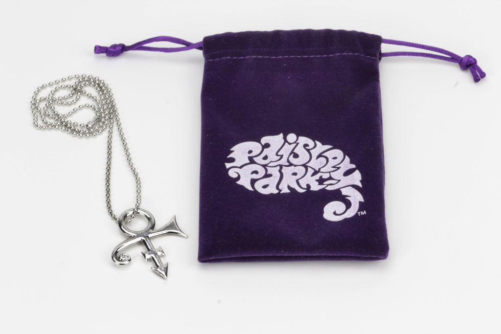 Prince Love Symbol Necklace Paisley Park