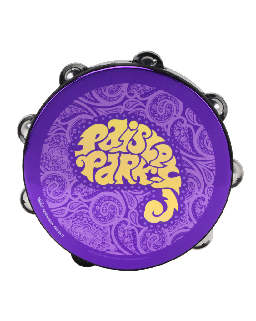 "Paisley Park - Giftware - Prince ""Paisley Park"" Concert Tambourine"