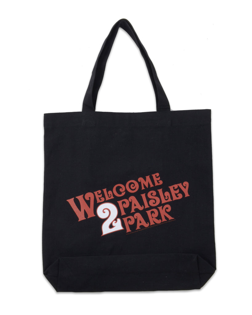 Paisley Park - Bags - Welcome 2 Paisley Park Tote Bag
