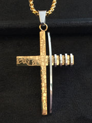 Stainless Steel Crosses With Chains