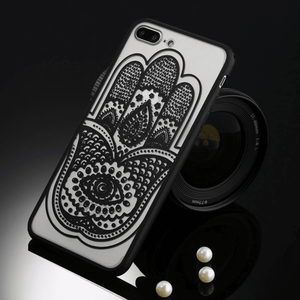 etui-iphone: Black Hamsa