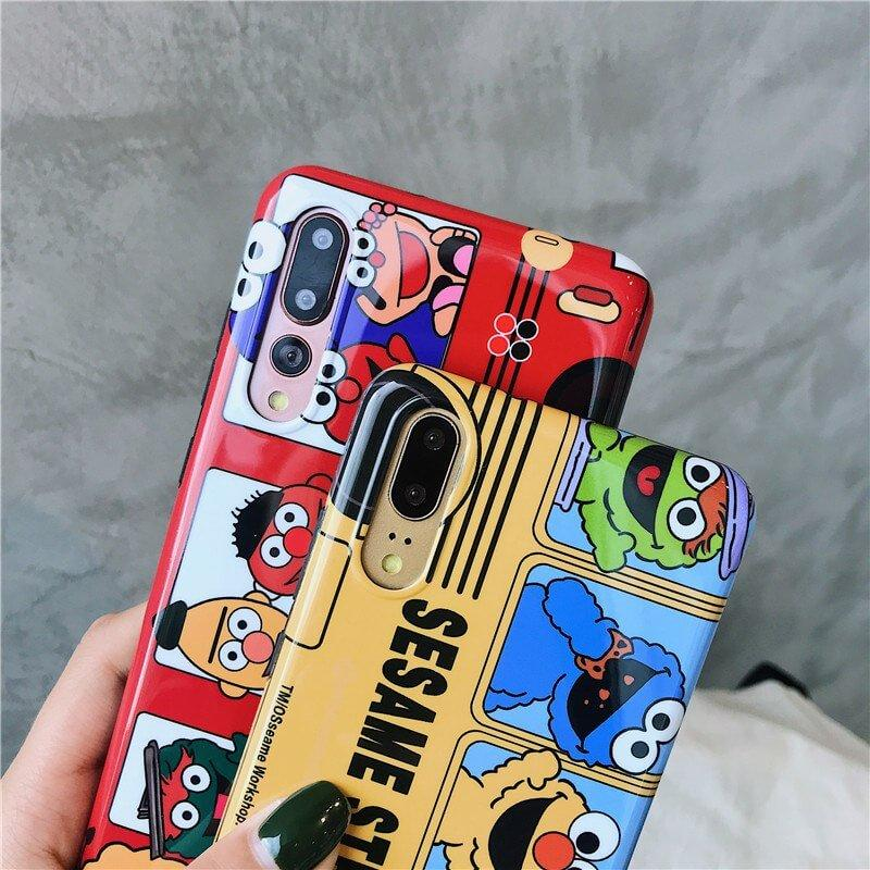 Meachy Official Store - Sesame Street Red
