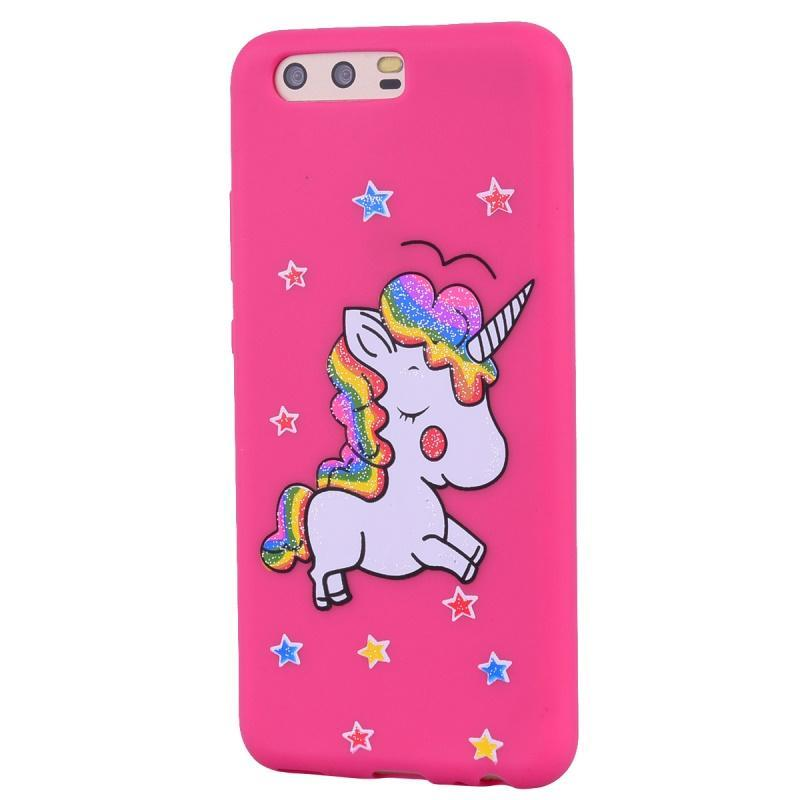 Phone Accessories TopBrand Store - Rubber Unicorn Pink