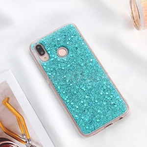 Wolkerfly 3C Store - Turquoise Glitter