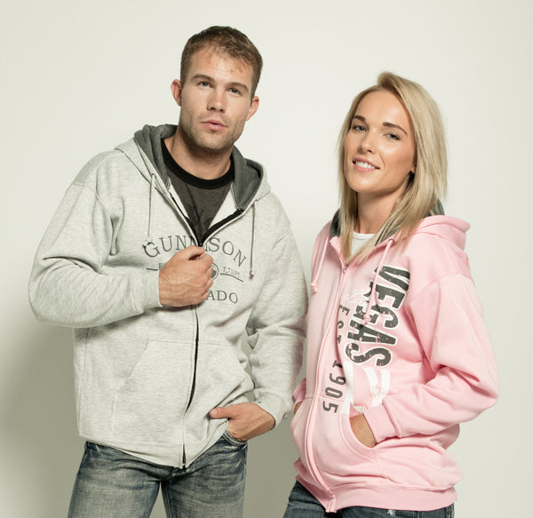 ADULTS HOODED FULLZIP SWEATSHIRT
