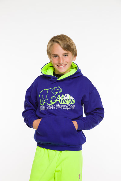 KIDS HOODED PULLOVER SWEATSHIRT