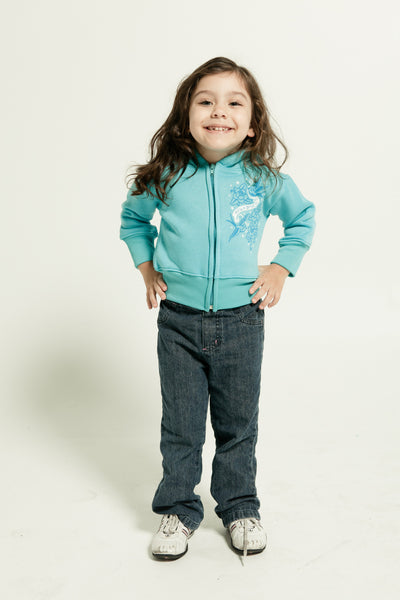 TODDLER HOODED FULLZIP SWEATSHIRT