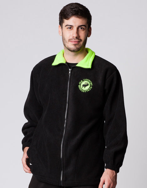 ADULT FULLZIP JACKET WITH TRIM