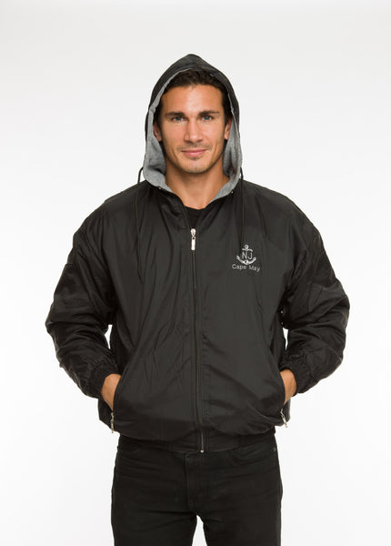 ADULTS HOODED FULLZIP ALL WEATHER JACKET