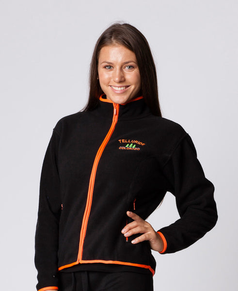 LADIES FULLZIP JACKET WITH PIPING