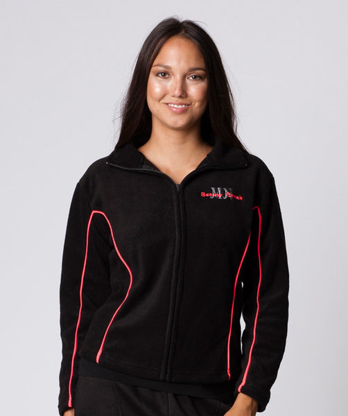 LADIES FITTED FULLZIP 2-TONE JACKET