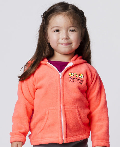 TODDLER FULLZIP HOODIE WITH POCKETS