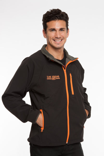 MENS FULLZIP SOFT-SHELL BONDED JACKET