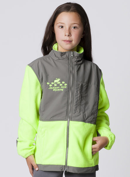 KIDS PERFORMANCE FULLZIP JACKET