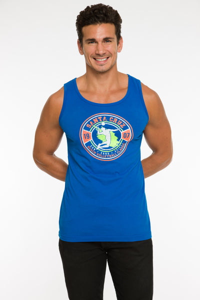 MENS GARMENT-DYED TANK TOP