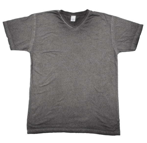 MENS DIRTY WASH V-NECK T-SHIRT