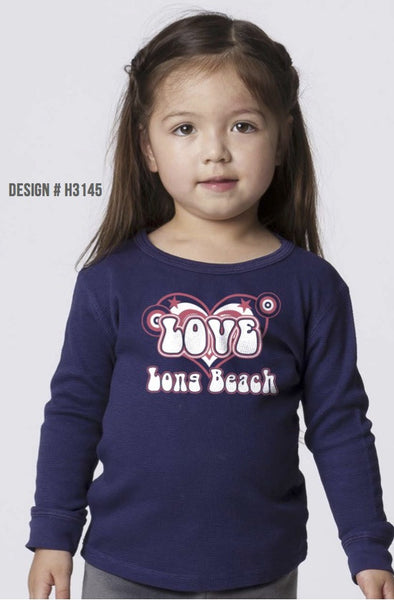 TODDLER GARMENT-DYED CREWNECK LONG SLEEVE THERMAL