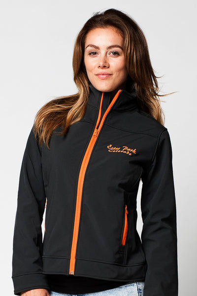 WOMENS FULLZIP SOFTSHELL BONDED JACKETS