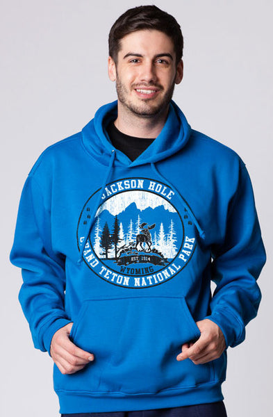 ADULT HOODED PULLOVER SWEATER