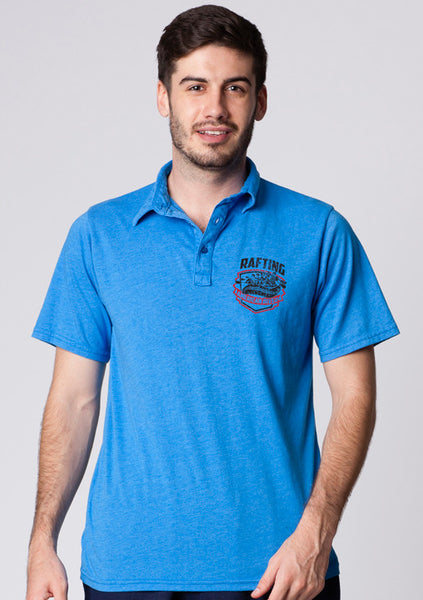ADULTS GARMENT-DYED POLO SHIRT