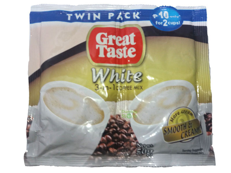 Great Taste White Coffee Twinpack 50g Free Delivery