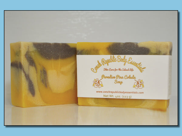 Paradise Pina Colada Bar Soap