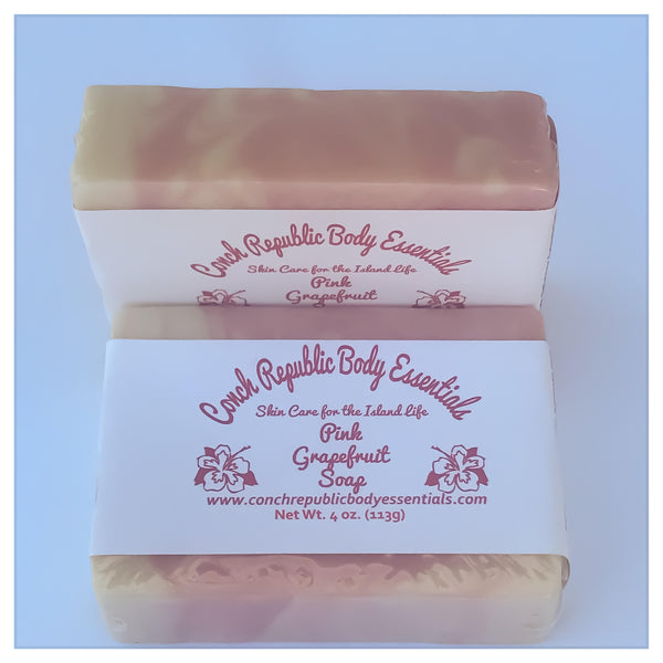 Pink Grapefruit Bar Soap