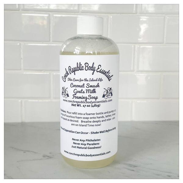 Island Days Luxurious Foaming Liquid Soap