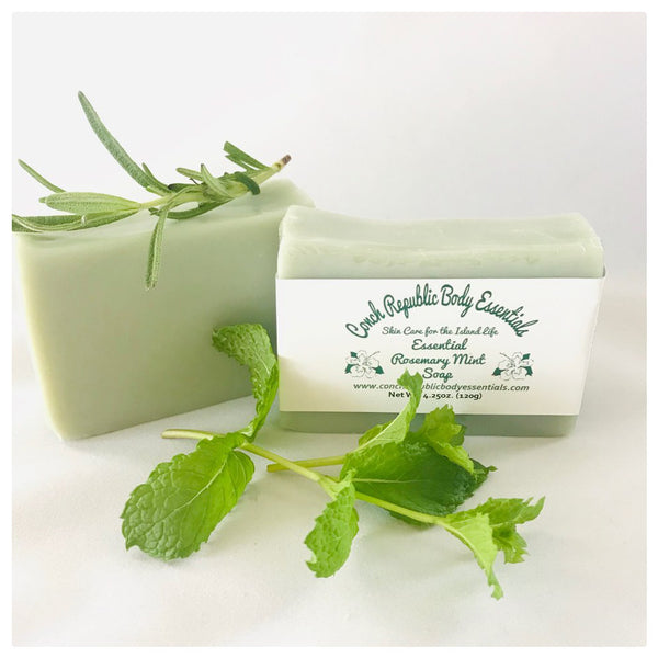 Essential Rosemary Mint Bar Soap