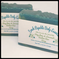 Key Lime & Coconut Butter Bar Soap