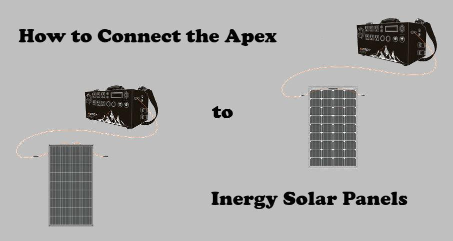 How to Set Up the Apex with Inergy Solar Panels