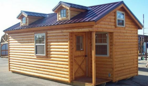 At Amish Cabin Company, We Build Pre Built Modular Log Cabins And Log Cabin  Kits Of The Highest Quality. Our U201cDeluxeu201d Log Cabins Are Built In Our  Custom ...