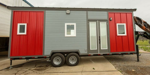 Tiny House Builder california tiny house builder creates wooden beauty on 24ft trailer Tiny House Chattanooga Tiny Home Builder Tennessee