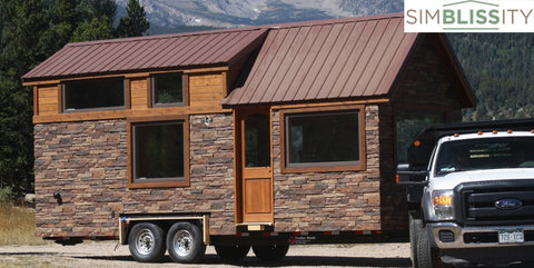 Simblissity Tiny Homes Rocky Mountains Colorado