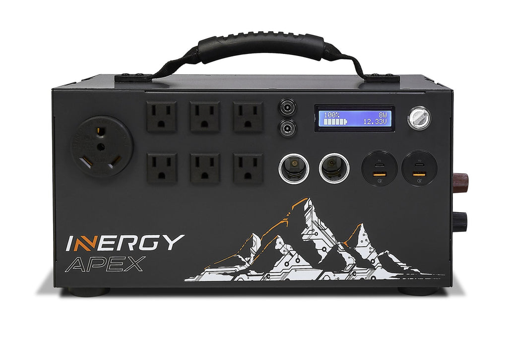 Inergy Apex Solar Generator Super Pack