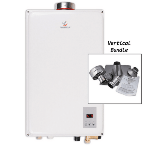 Image of Eccotemp 45HI-LP Water Heater Vertical Bundle