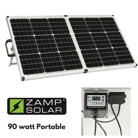 Image of Zamp Portable Solar Charging System