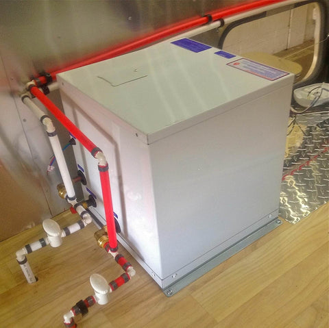 Precision Temp RV 550 NSP Tankless Water Heater - Floor Vent