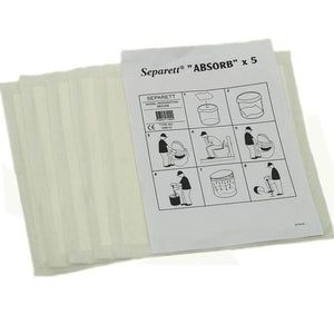 Separett Compostable Absorption Pads
