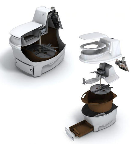 Image of BioLet BIO15 Composting Toilet