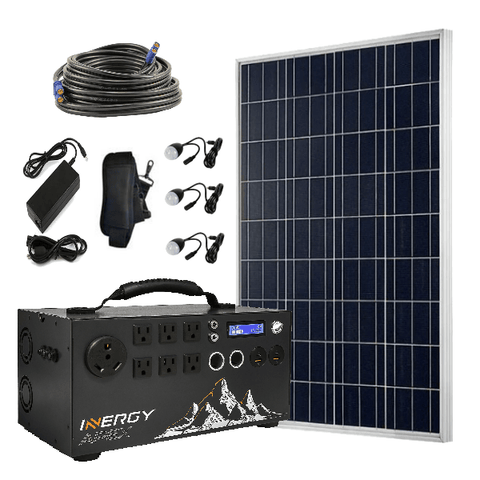 Image of Inergy Apex Solar Generator Super Pack