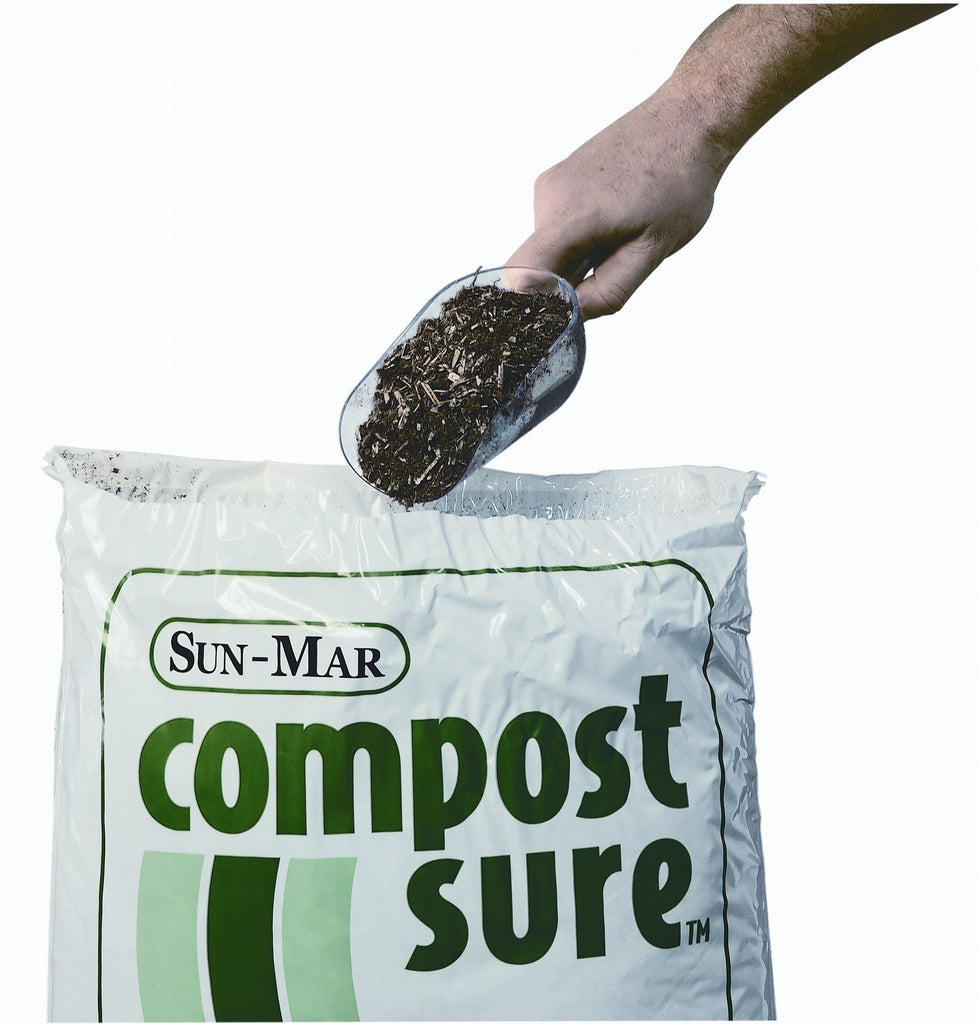 Sun-Mar's Compost Sure Green Bulking Material