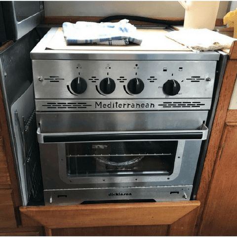 Image of Dickinson Mediterranean Three Burner Gas Stove
