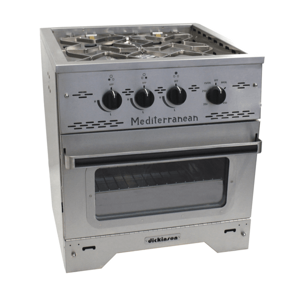 Dickinson Mediterranean Three Burner Gas Stove