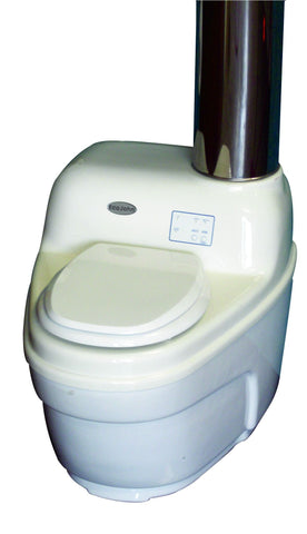 EcoJohn SR5 Series Waterless Incinerating Toilet
