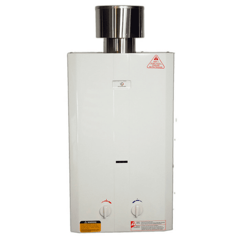 Eccotemp L10 Portable Tankless Water Heater with EccoFlo Pump & Strainer