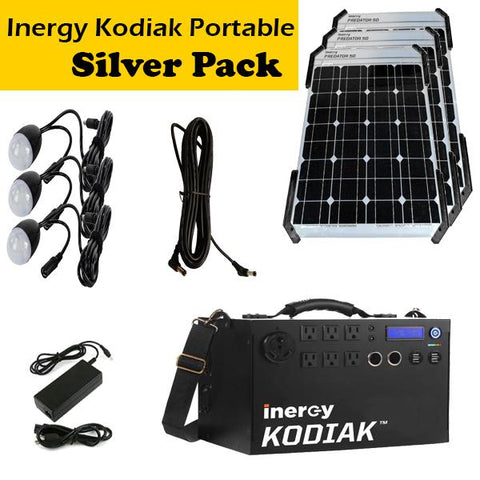 Inergy Kodiak Solar Generator Portable Super Pack